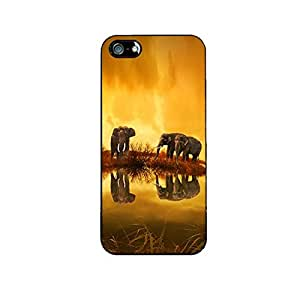 Vibhar printed case back cover for Apple iPhone 6s Plus ElephantShadow