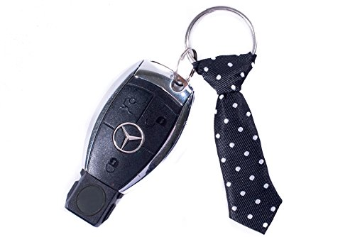 Miniature Red Tie Key Chain – Cool Keychain for Guys – Mens Keychain – Keychain for Him – Gift for Men