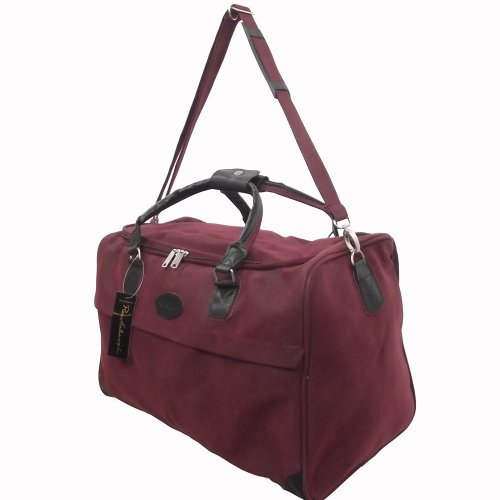 Large Faux Suede Holdall Overnight Weekend Bag Hand Cabin Luggage Mens Ladies