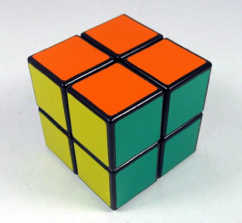 Shenshou @2x2x2 Competitve Speed Spring Magic Puzzle Cube Game Intelligence Fancy Toy (Black)