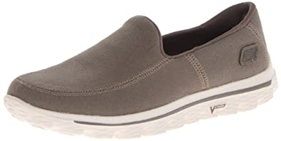 Skechers Men's Go Walk 2-Maine Walking Shoe,Taupe,6.5 M US