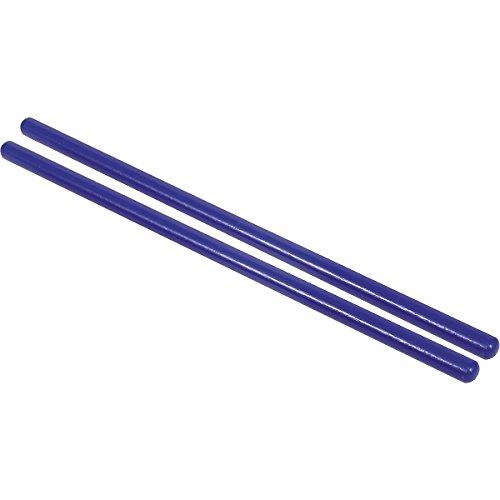 """Plain Rhythm stick 14"""" Blue 1 Pair"""