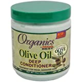 Africas Best Org Olive Oil X- Virgin Cond. Deep 15oz Jar