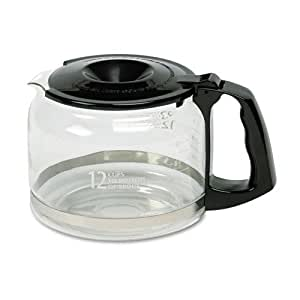 Amazon.com: Twelve Cup Replacement Carafe for Commercial Automatic Drip Coffee Maker (CCECC13D ...