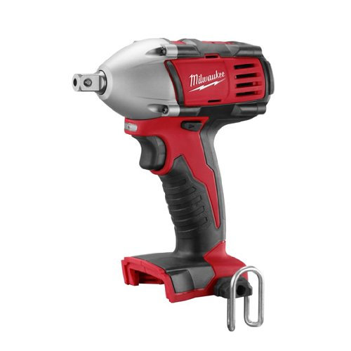 Bare-Tool Milwaukee 2652-20 M18 18-Volt 1/2-Inch Cordless Compact Impact Wrench With Detent Pin(Tool Only)