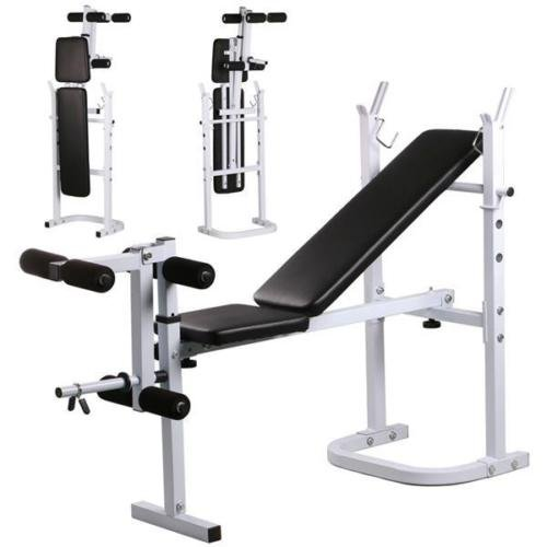 Weight-Lifting-Bench-Fitness-Workout-Home-Exercise-Adjustable-Incline-Press-NEW