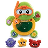 Enticing VTech Baby Bath Friends Turtle with accompanying ChildSAFE Door Stops
