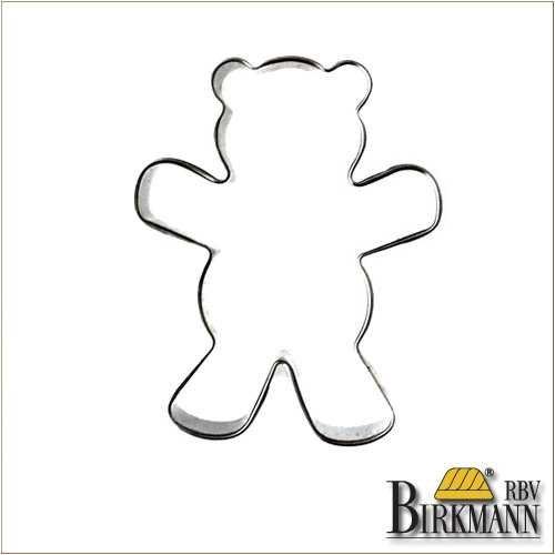 クッキー型クマTeddy BearテディベアBIRKMANNアーモンドを抱く熊バークマン(中)7cm