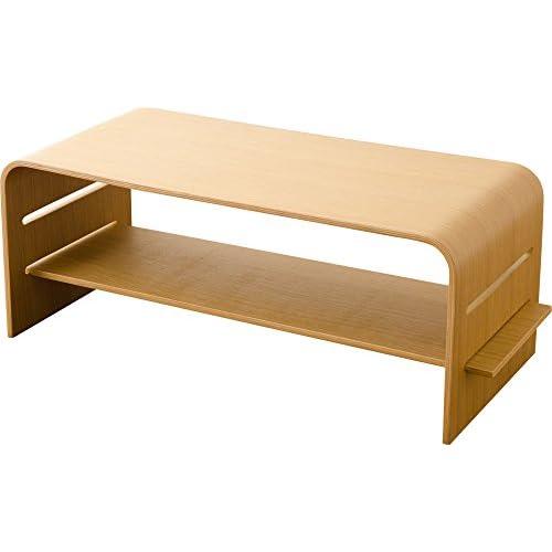 エムール ホワイトオーク突き板 テレビボード テーブルとしても使える