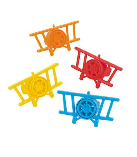Airplane Whizzers Value Pack-6 pieces