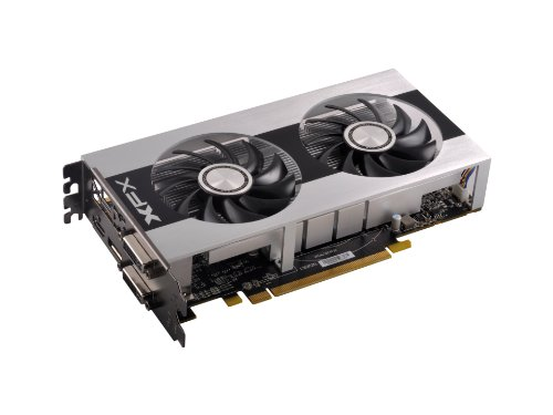Xfx Double D Black Edition Amd Radeon 7790 1075Mhz 1Gb Gddr5 Display Port Hdmi Dual Dvi Graphics Card Fx779Azdb4