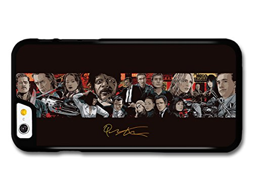 Quentin Tarantino Movie Collage Illustration Pulp Fiction Kill Bill Inglorious Basterds custodia per iPhone 6