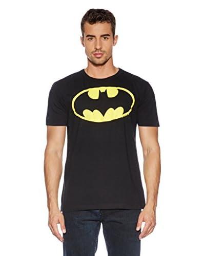 Logoshirt T-Shirt Manica Corta Batman [Nero]