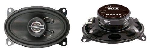 Lanzar Mx462 Max Series 4-Inch X 6-Inch 240-Watt 2-Way Coaxial Speakers (Pair)