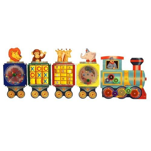 Anatex Busy Train Activity Panel Playset - 1