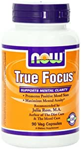 NOW Foods True Focus, 90 Vcaps