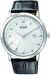 Citizen Men's BM7190-05A Eco-Drive Stainless Steel Watch with Black Synthetic Band