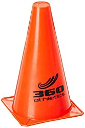 360 Athletics 9 Pylon Cone, Red
