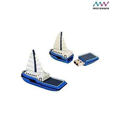 Microware 16GB Boat Yacht Ship ShMicroware Designer Pen Drive