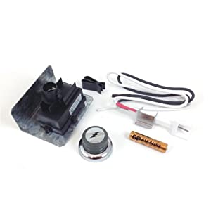 Weber Battery Electronic Igniter Kit Genesis Ceramic Collector Box 67847 by Weber