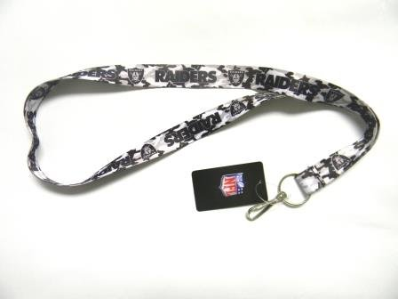 Oakland Raiders Camouflage Lanyard in Team Colors at Amazon.com