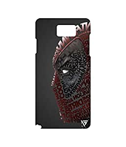 Vogueshell Deadpool Printed Symmetry PRO Series Hard Back Case for Samsung Galaxy Note 5