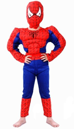 Simplicity Spiderman Costume for Kids Halloween Costume Party