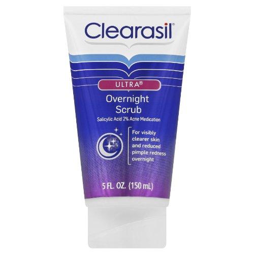 Clearasil Ultra Nuit Scrub, 5 onces