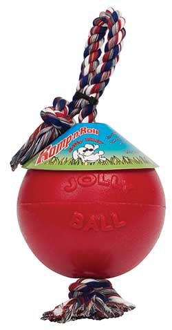 Romp And Roll Ball Dog Toy, 8