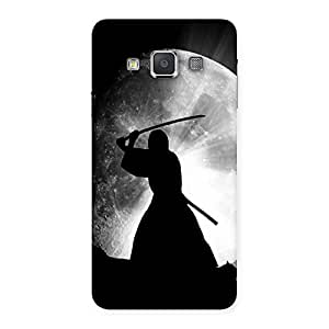 Moon Warrior Back Case Cover for Galaxy A3