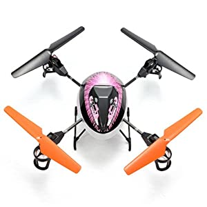 WLtoys V212 UFO 2.4Ghz 4CH 6-Axis Gyro RC Quadcopter BNF Mode 2 - (Upgraded V949) - Will bind with remote control of V202, V212, V222 - Guaranteed by RC-Hobby-eStore.