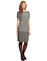 M&S Collection Geometric Print Tunic Dress