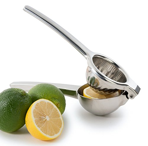 Chef's Star Jumbo Citrus Juicer Lemon Squeezer - Stainless Steel - Lime Squeezer - Orange Squeezer - Dishwasher Safe (Manual Dishwasher compare prices)