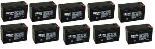 12V 9Ah Razor Dirt Bike Mx500 Replacement Battery - 10 Pack