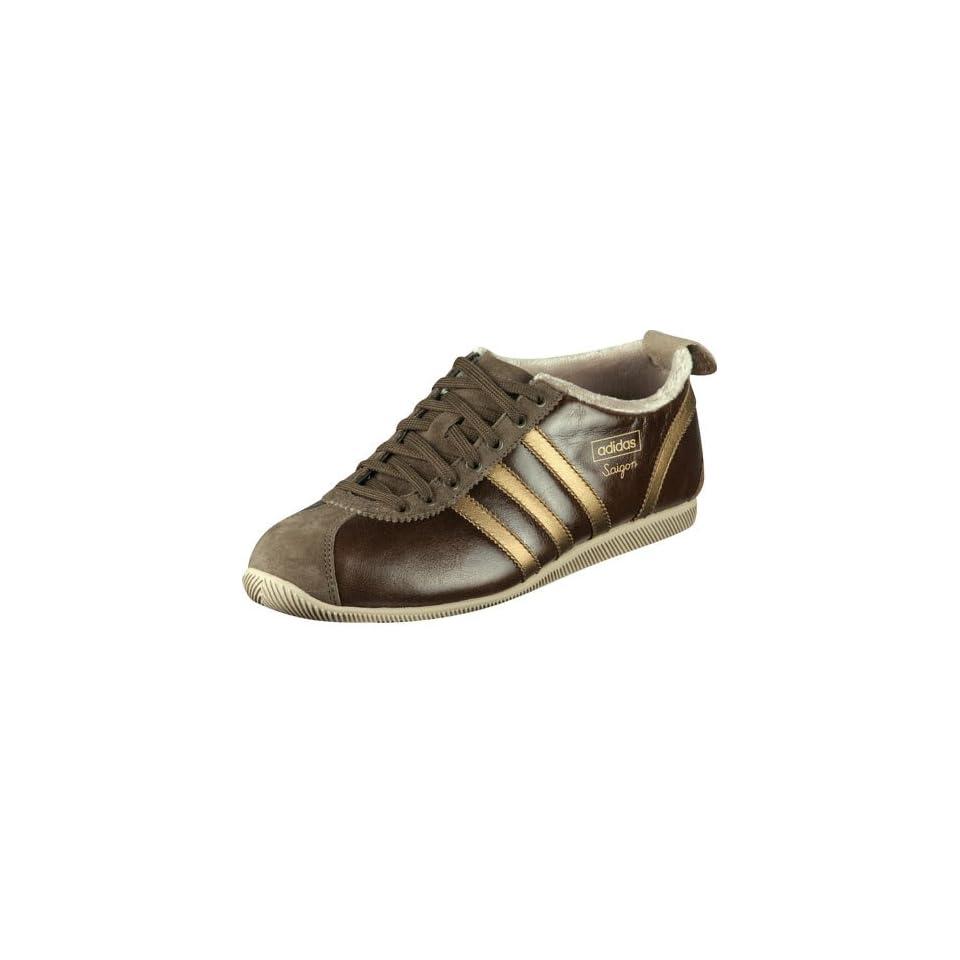 Adidas Saigon W Schuh Gr sse 40 23 Farbe tecbrownmetgold