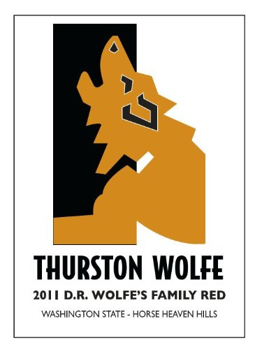 "2012 Thurston Wolfe ""D.R. Wolfe'S Family Red"" Horse Heaven Hills Red Blend 750 Ml"