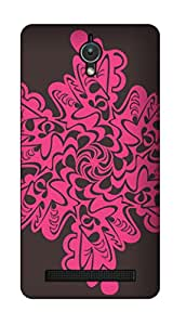 SWAG my CASE PRINTED BACK COVER FOR ASUS ZENFONE C Multicolor