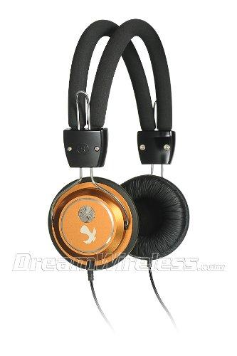 Dream Wireless Platinum Collection Beat Bass Series Headphones - Retail Packaging - Gold