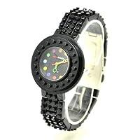 [ナノブロック]nanoblock 腕時計 デコって遊べる リスト ウォッチ おまけ付 ブラック×ブラック NAW3411-05