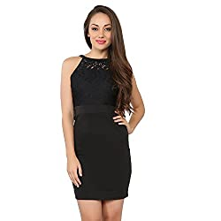 Tong Black Dress Cotton for Women