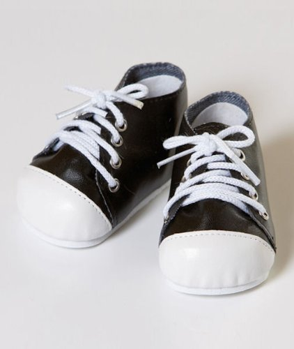 Imagen de Negro / blanco zapatos tenis 2010 zapatos de muñeca Adora