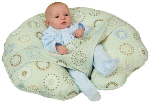 Leachco Cuddle-U Original Nursing Pillow, Sunny Circles