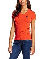 Galvanni Camiseta Manga Corta Beatrice (Naranja)