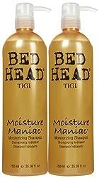 TIGI Bedhead Moisture Maniac Moisturizing Shampoo - 25.36 oz - 2 pk