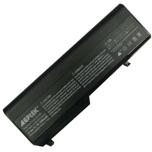 AGPtek 7200mAh 9 Cubicle Li-ion Battery For Dell Vostro 1310 1510 series, replaces T116C G276C Y022C T112C