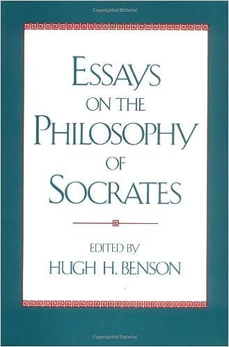 h h benson essays on the philosophy of socrates
