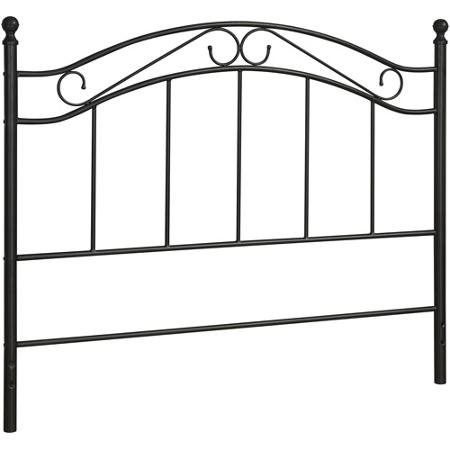 Mainstays Full/Queen Metal Headboard, Black (Headboard Full Metal compare prices)
