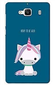 love Designer Printed Back Case Cover for Mi Redmi 2