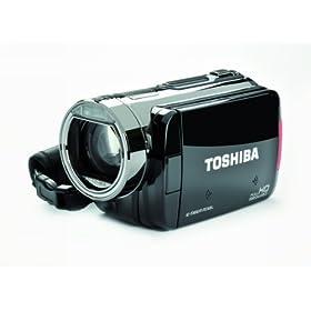 Toshiba Camileo X100 Full-HD Camcorder (Silver/Black)