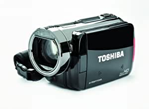 Toshiba Camileo X100 Full-HD Camcorder - Silver/Black